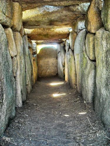 Tomba dei giganti interno